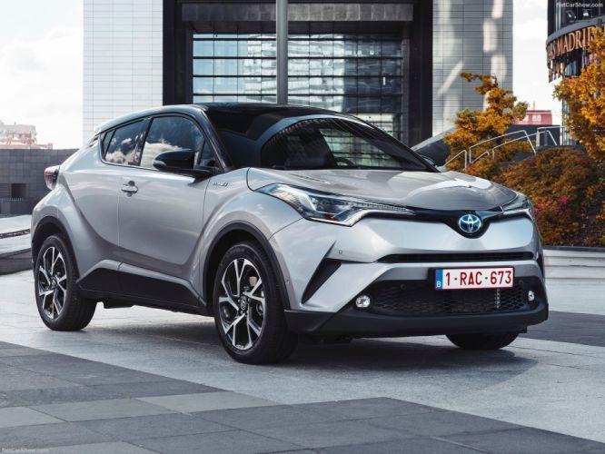 Toyota C-HR cars suv silver wallpaper