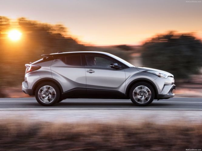 Toyota C-HR cars suv silver wallpaper
