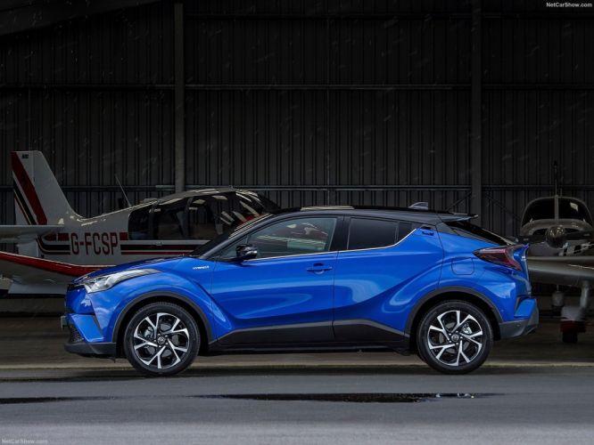 Toyota C-HR cars suv blue wallpaper