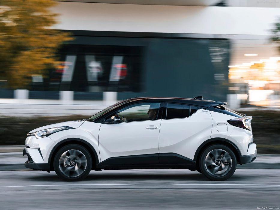 Toyota C-HR cars suv white wallpaper