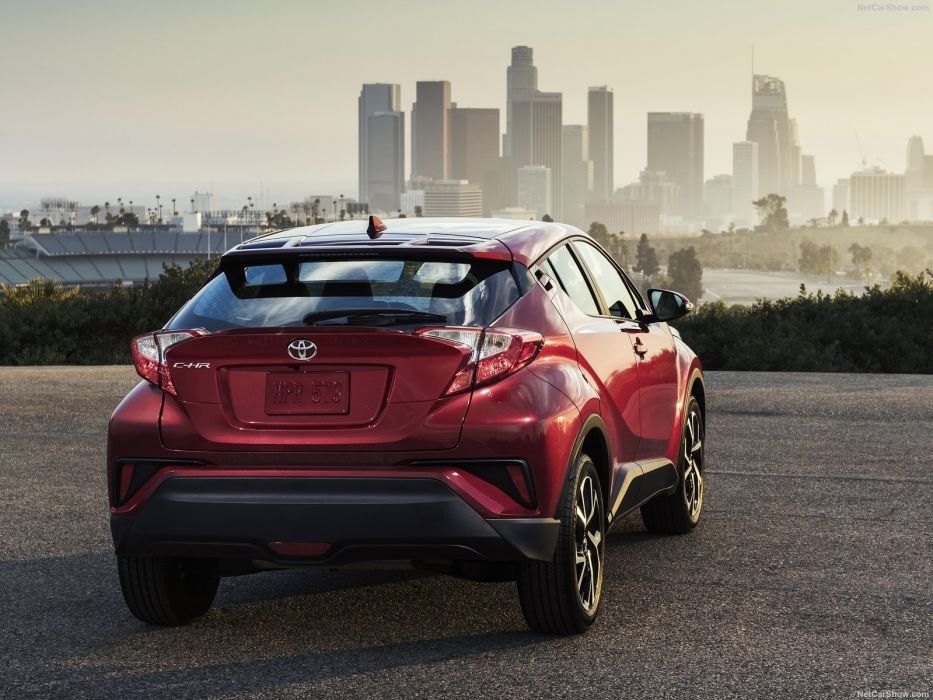 Toyota C-HR cars suv red us-version wallpaper