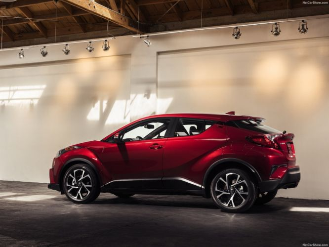 Toyota C-HR cars suv red us-version wallpaper