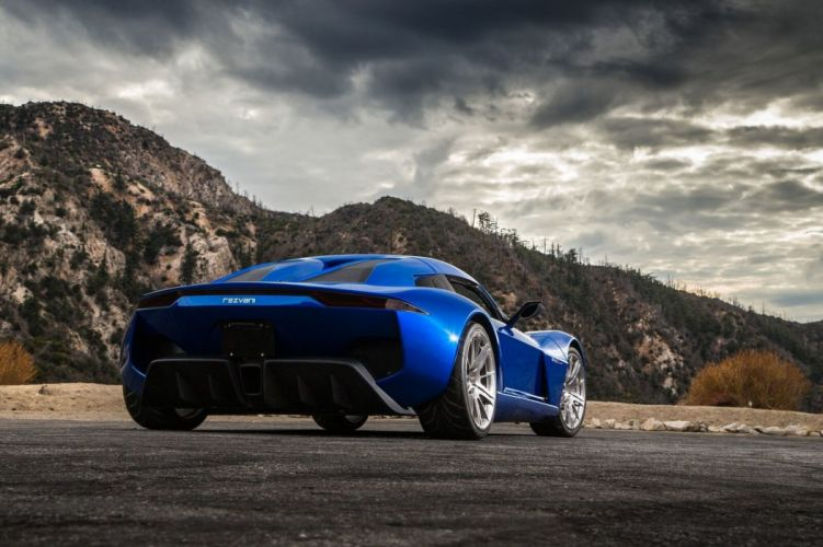 Rezvani Beast Alpha cars supercars blue 2017 wallpaper