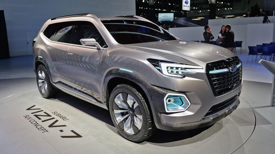 Viziv-7 Concept cars subaru suv wallpaper