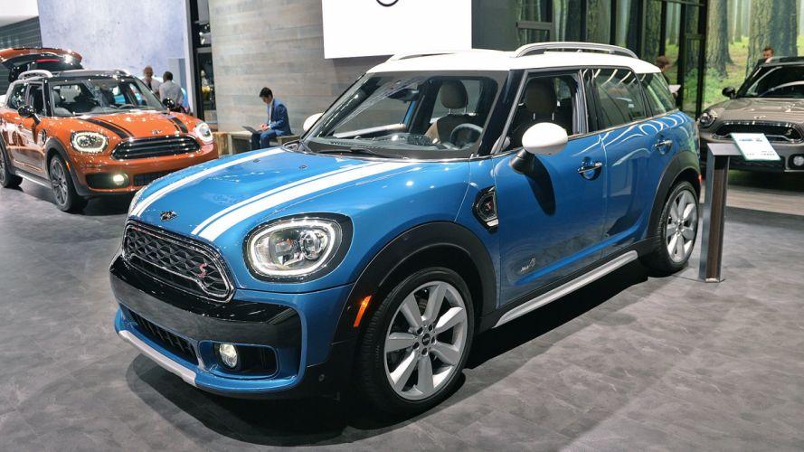 2017 Mini cooper (s) Countryman cars suv blue wallpaper