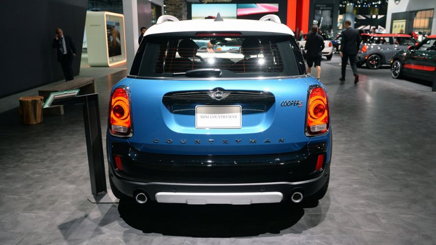 2017 Mini cooper (s) Countryman cars suv blue wallpaper