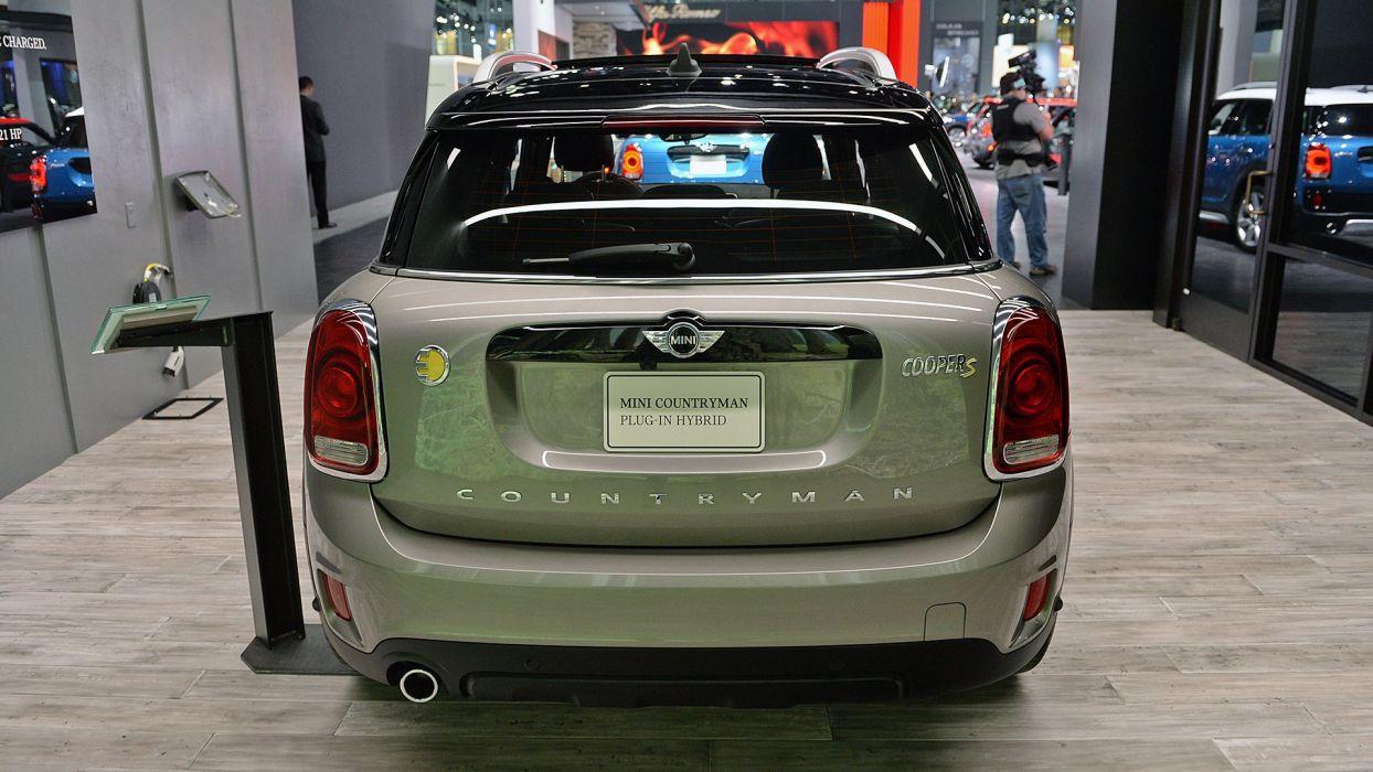 2017 Mini Countryman cooper Plug-In Hybrid cars suv  wallpaper