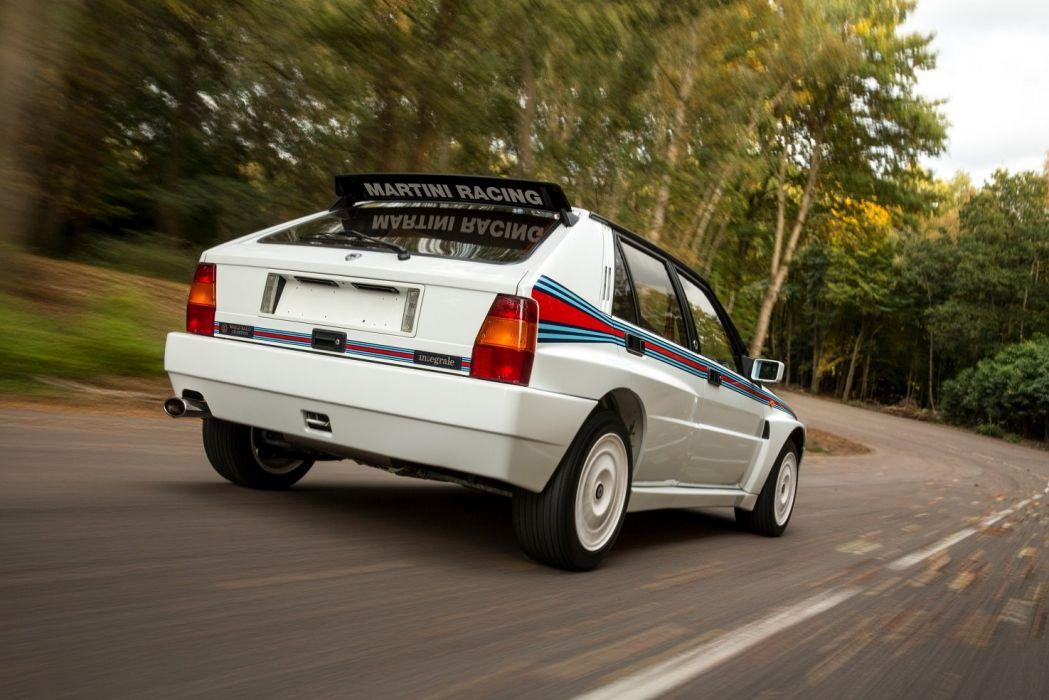 Lancia Delta-HF Integrale Evoluzione cars racecars 1992 wallpaper
