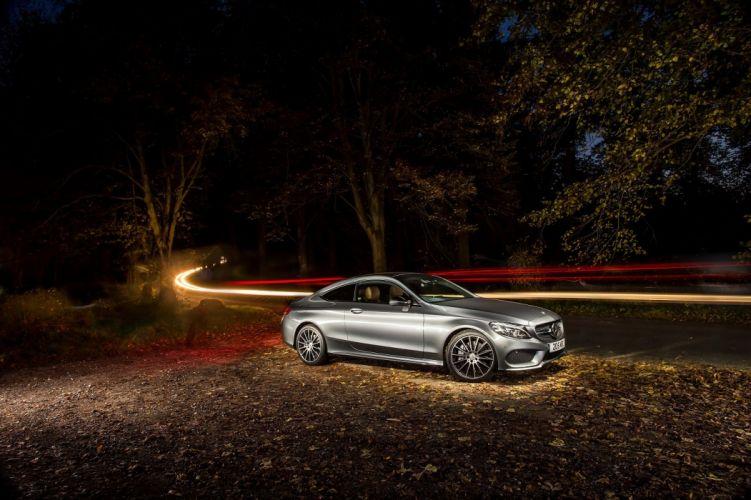 Mercedes AMG C43 4MATIC Coupe UK-spec (C205) cars 2016 wallpaper