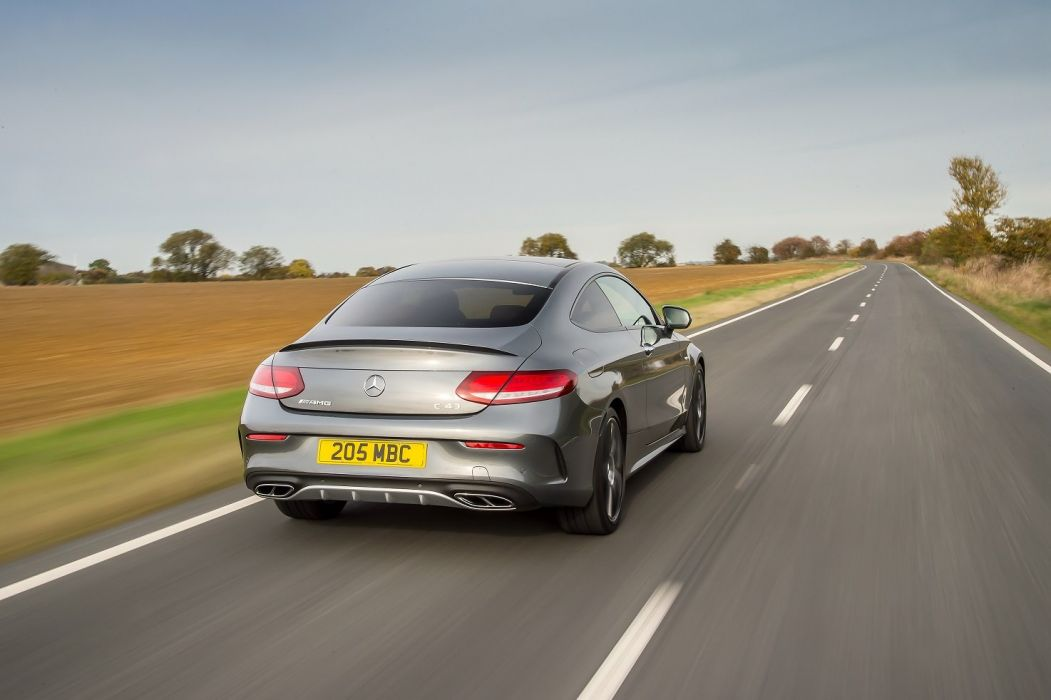 Mercedes AMG C43 4MATIC Coupe UK-spec (C205) cars 2016 wallpaper