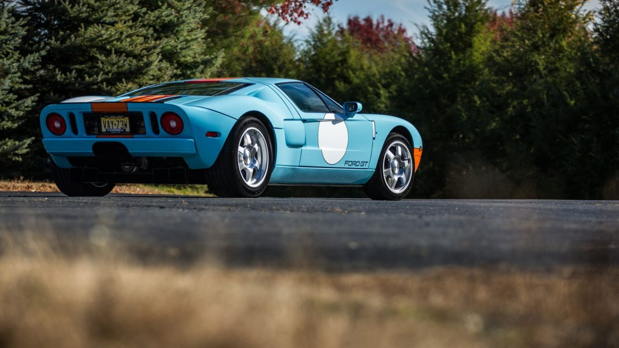 2006 FORD (GT) HERITAGE EDITION gulf cars blue wallpaper