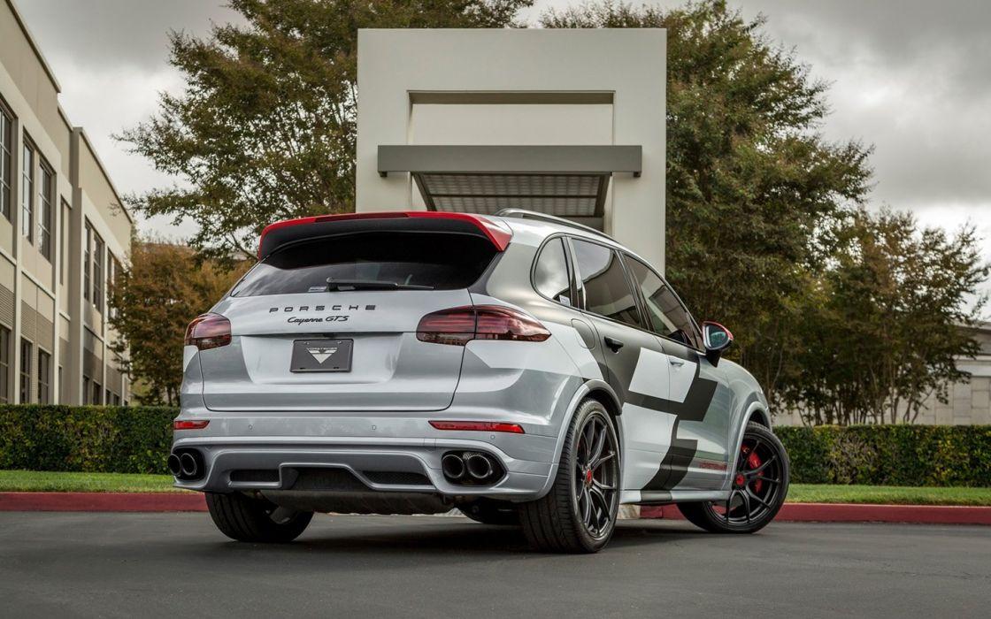 2016 Vorsteiner Porsche Cayenne GTS cars suv wheels 2016 wallpaper