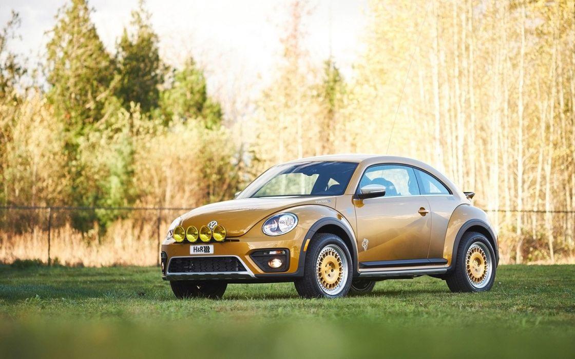 2016 H&R Springs Volkswagen Beetle Dune cars modified wallpaper
