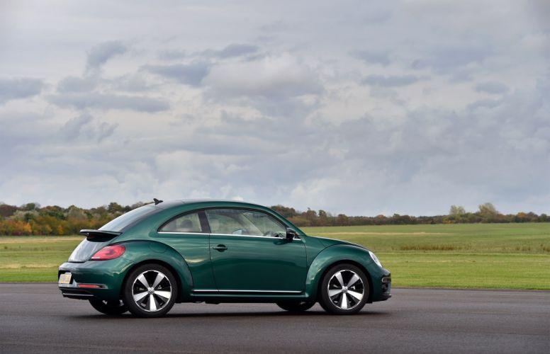 Volkswagen Beetle UK-spec cars green 2016 wallpaper