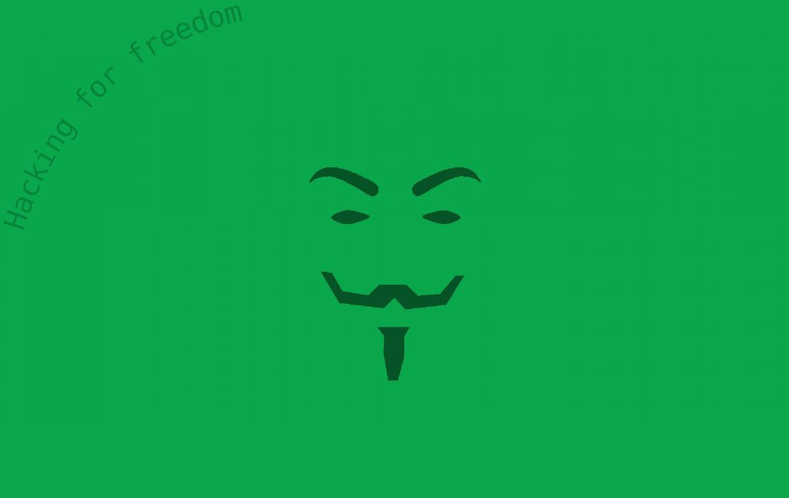 Anonymous Mask Minimalism Minimalist Minimal Guy Frawks Movie Hacking Hack Hacker Freedom Liberty Wallpaper