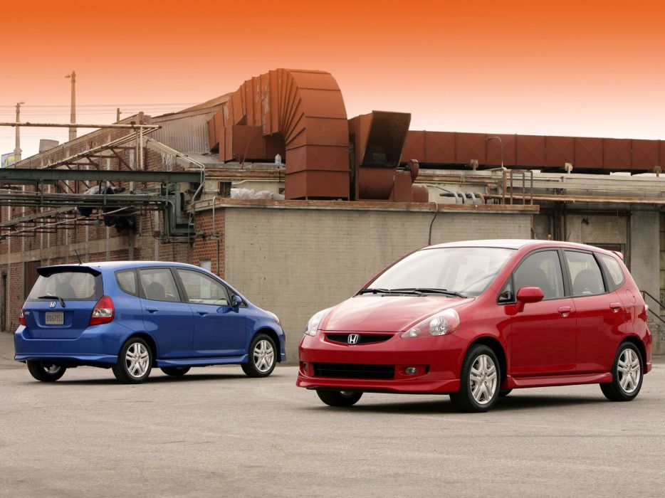 Honda Fit Sport 2007 wallpaper