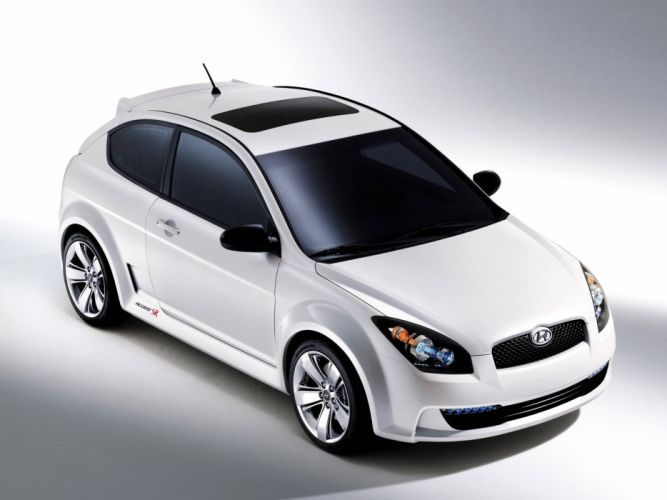 Hyundai Accent SR Concept 2005 wallpaper