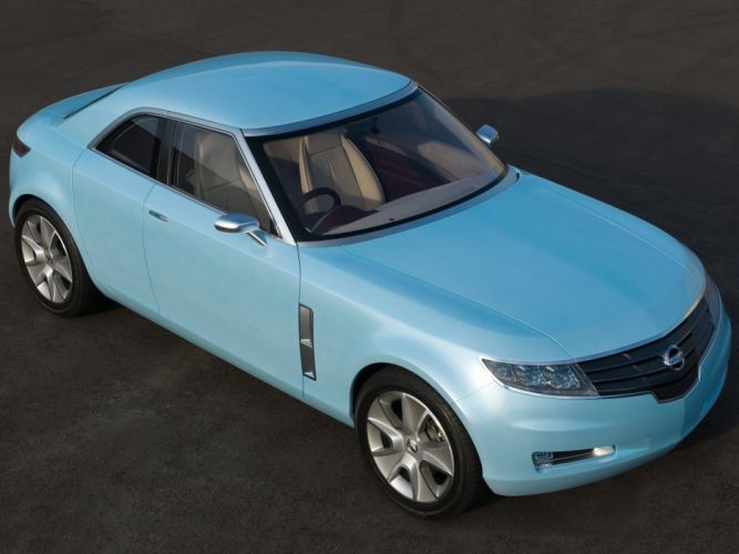 Nissan Foria Concept 2005 wallpaper