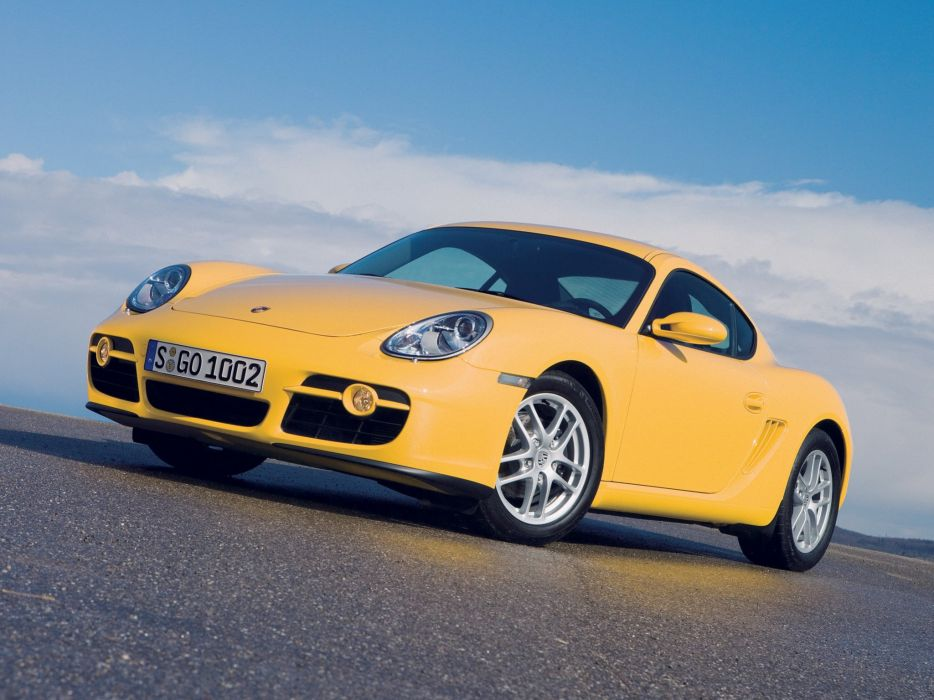 Porsche Cayman 2006 wallpaper