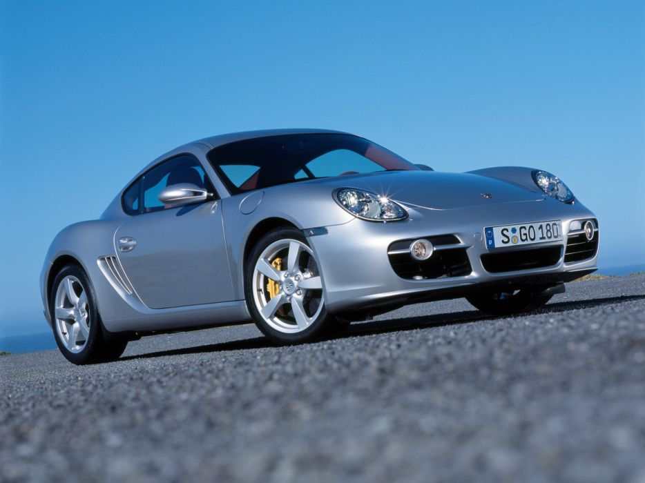 Porsche Cayman S 2006 wallpaper