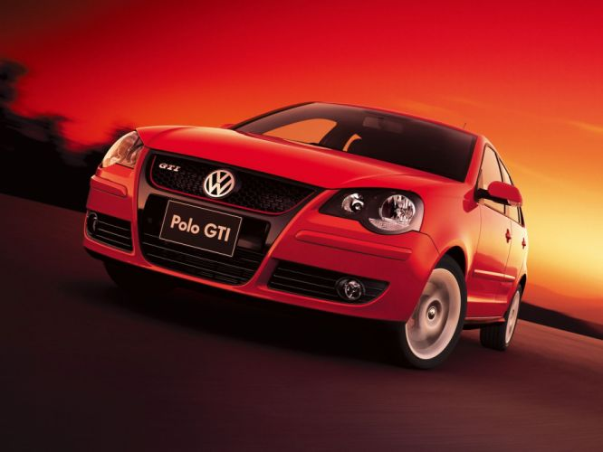Volkswagen Polo GTI 5-door 2006 wallpaper