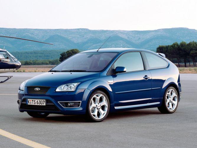 Ford Focus ST 3-door 2005 wallpaper