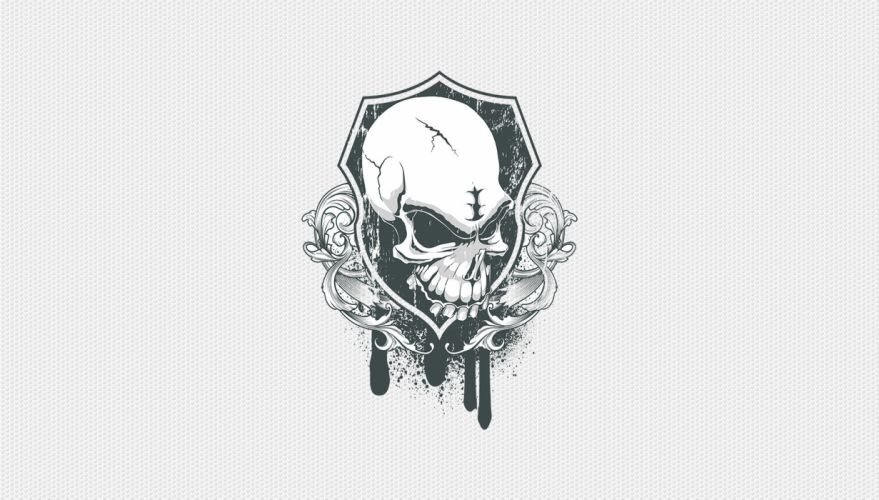 SSM Skull Shield wallpaper