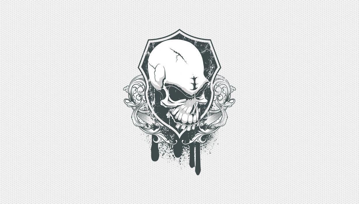 SSM Skull Shield wallpaper
