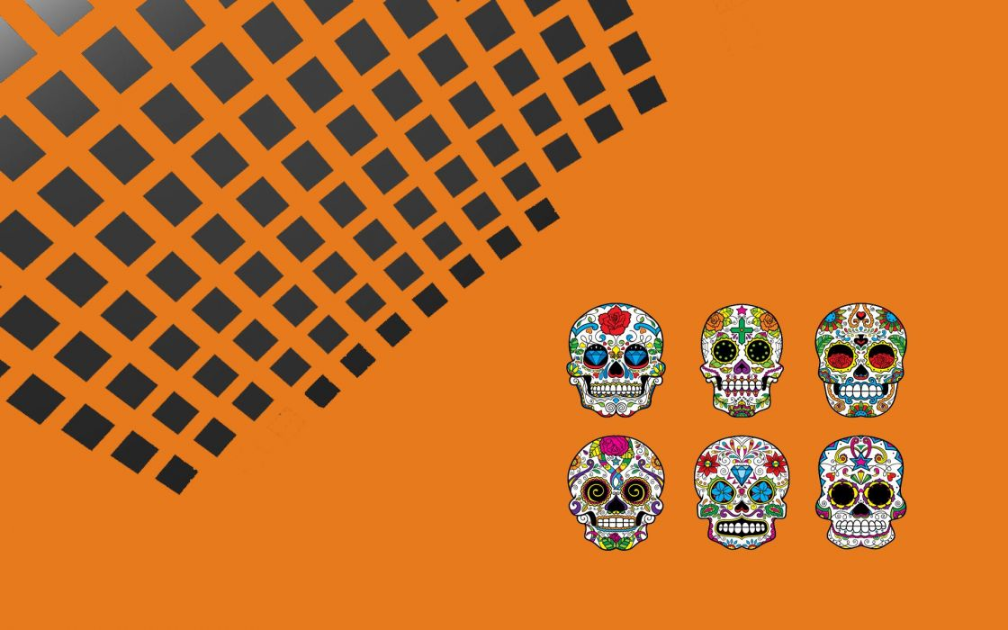 SSM Sugar Skulls wallpaper