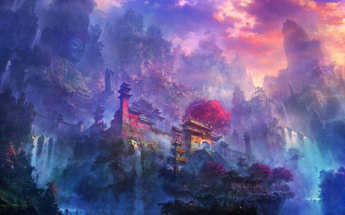 digital art fantasy wallpaper