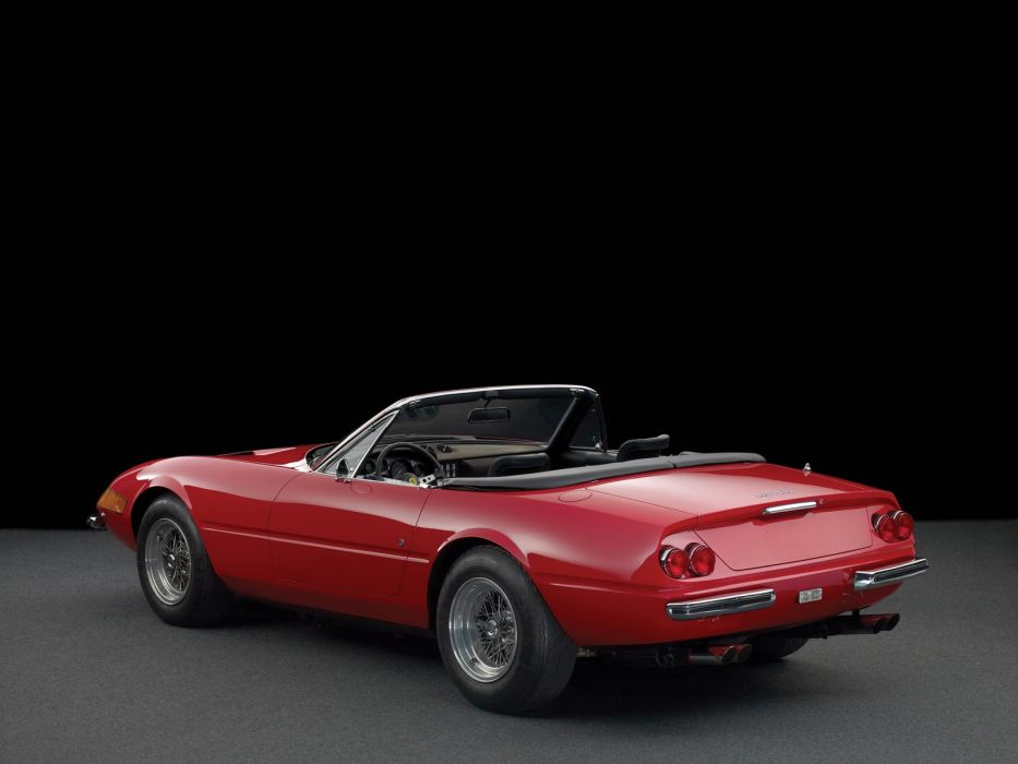 Ferrari Daytona Spider cars red classic  wallpaper