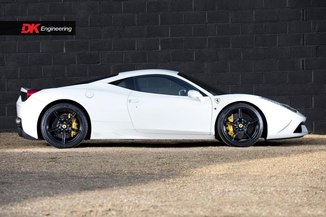 Ferrari 458 Speciale cars white wallpaper