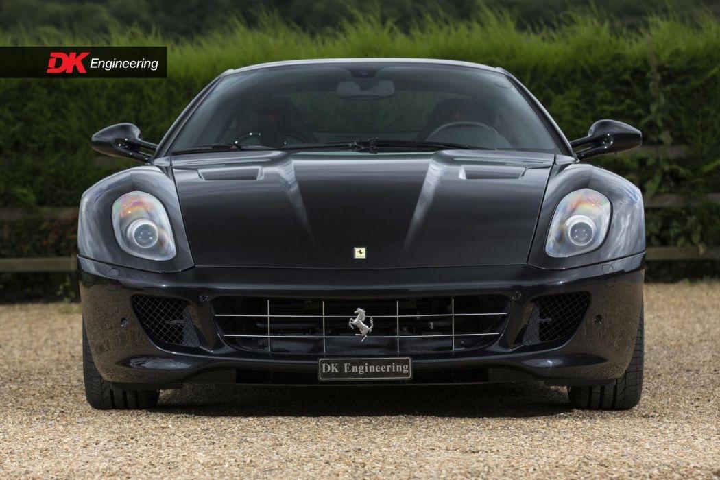 Ferrari 599 gtb black cars 2011 HGTE Handling Package wallpaper