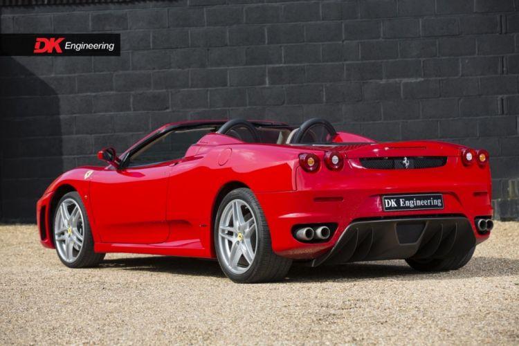 Ferrari F430 Spider (F1) cars red wallpaper