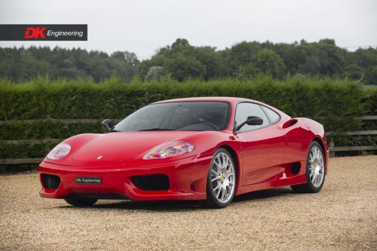 Ferrari 360 Challenge Stradale cars red wallpaper