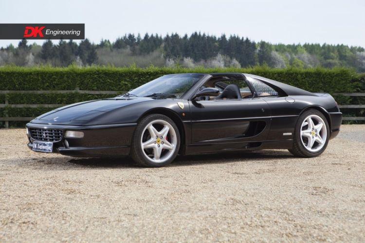 Ferrari 355 GTS black 1994 cars wallpaper