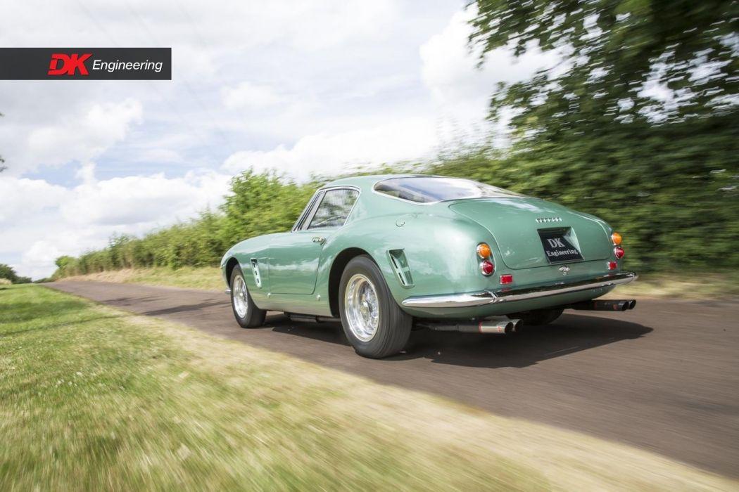 Ferrari 250-GT SWB cars classic green wallpaper