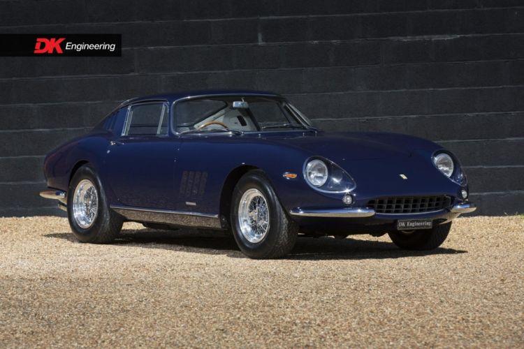 Ferrari 275 GTB-6C Alloy cars blue classic wallpaper