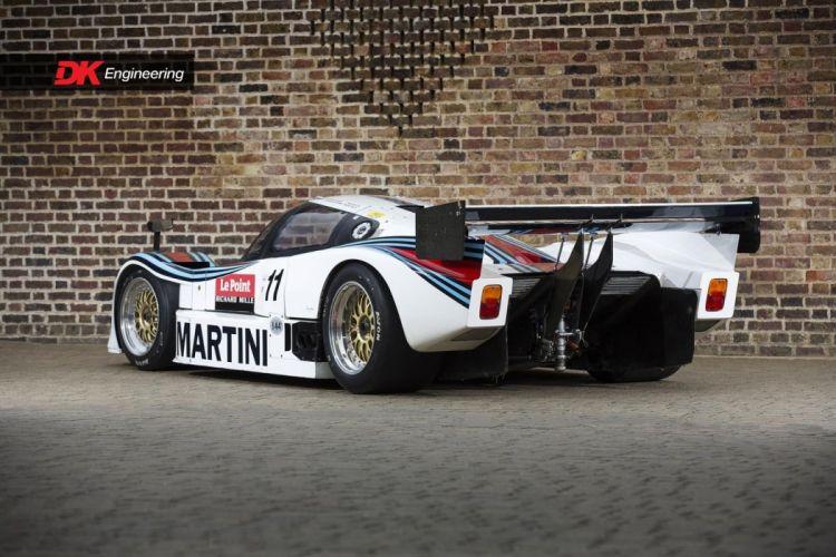 Lancia LC2 cars racecars LeMans 1984 wallpaper