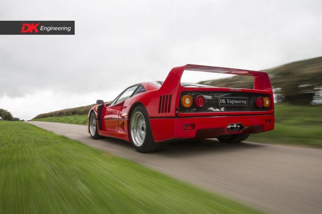 Ferrari F40 cars supercars red wallpaper