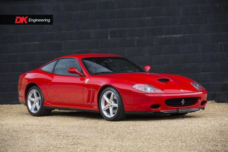Ferrari 575-M Fiorano Handling Pack cars red wallpaper