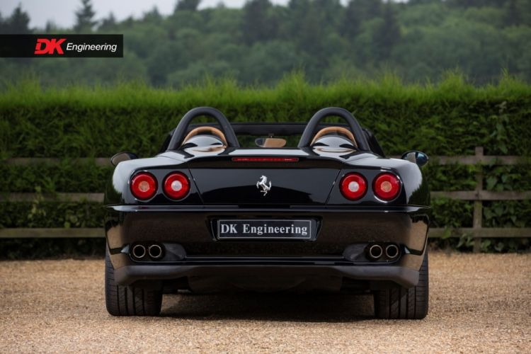 Ferrari 550 Barchetta cars black wallpaper