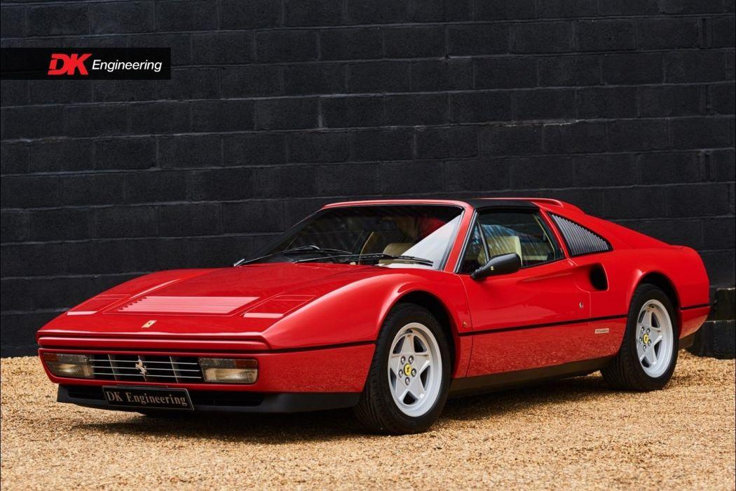 1985 Ferrari 328 GTS cars red wallpaper