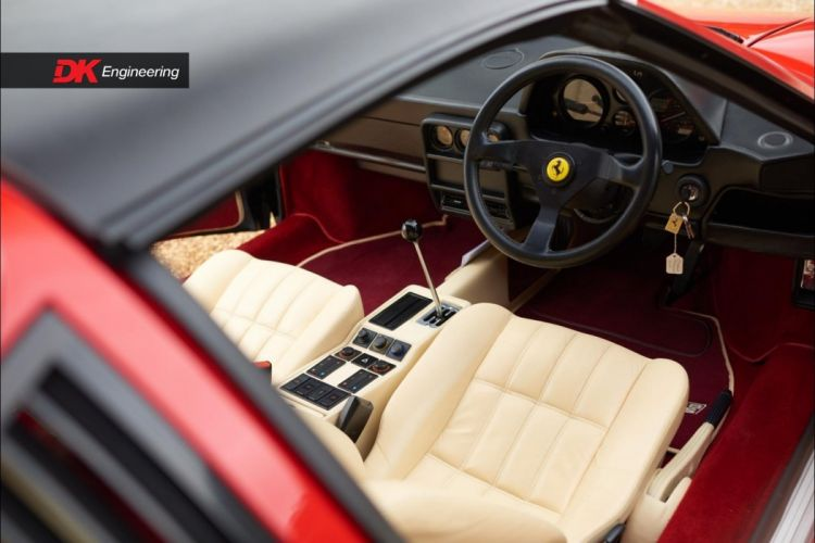 1985 Ferrari 328 GTS cars red wallpaper