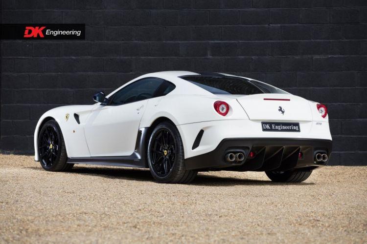 Ferrari 599 GTO cars white wallpaper