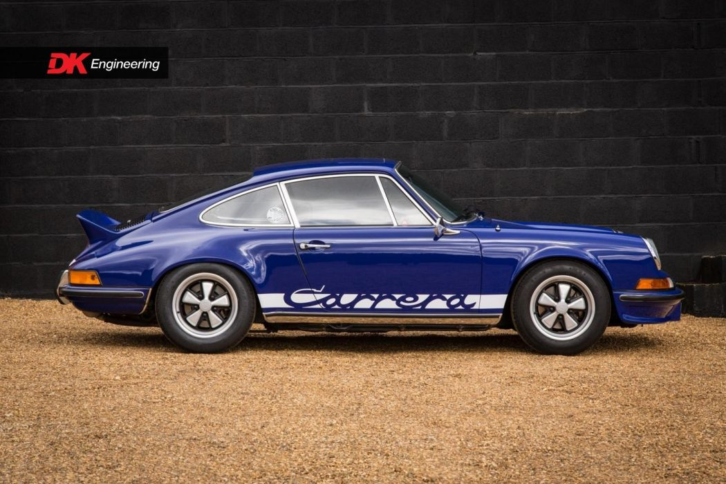Porsche (2 7) Carrera (RS) cars blue 1973 wallpaper