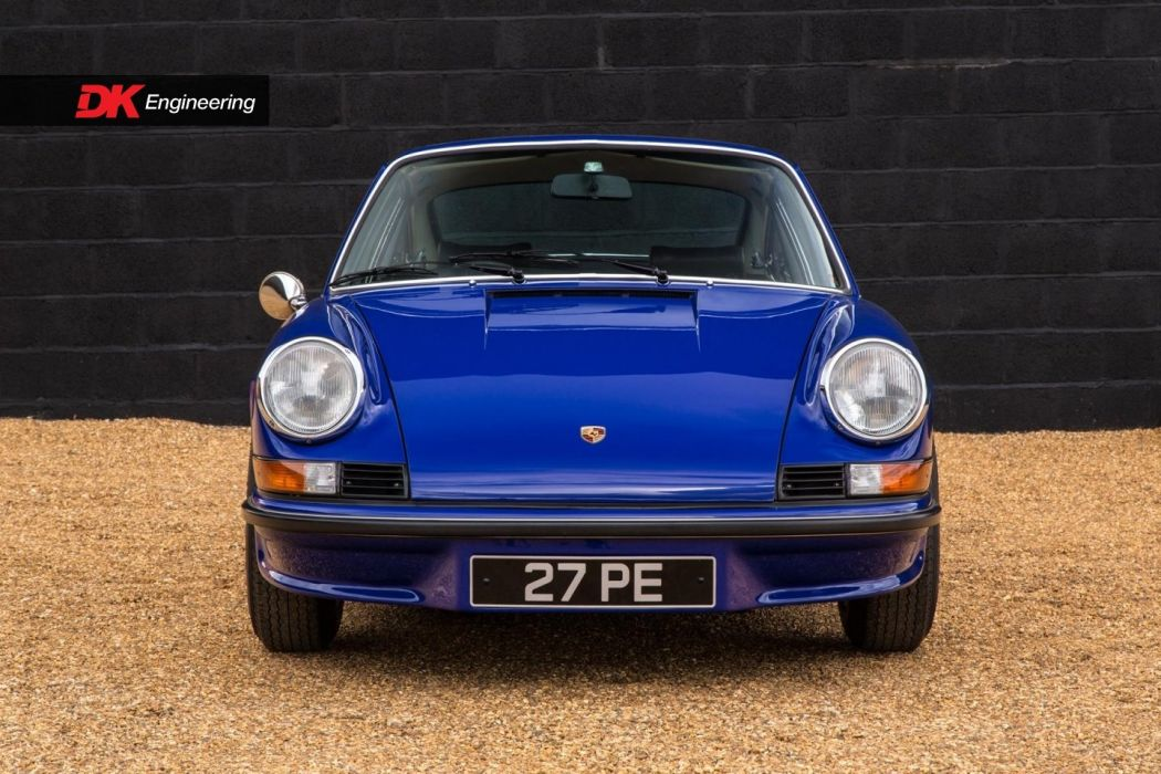 Porsche (2 7) Carrera (RS) cars blue 1973 wallpaper