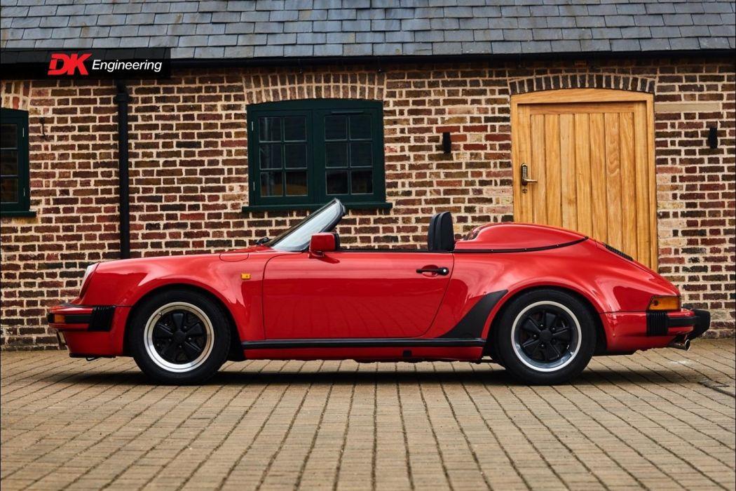Porsche 911 930 Speedster cars red wallpaper