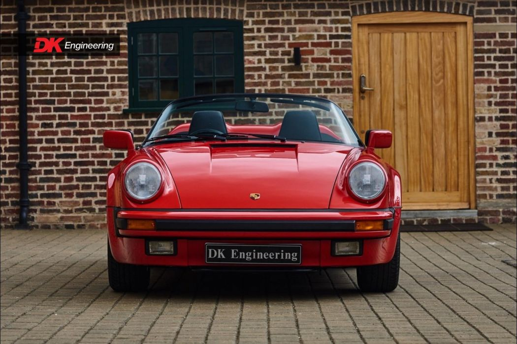 Porsche 911 930 Speedster cars red wallpaper