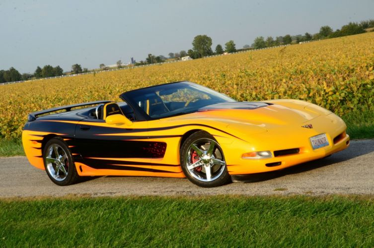 2000 chevy Corvette convertible Lingenfelter cars modified wallpaper